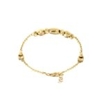 #4926Br Fancy Gold Bracelet