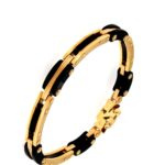 # DBR593 Bracelet with Black Resin