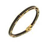 # DBR719 Bracelet with Black Resin