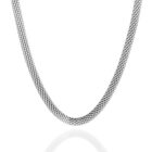 Sterling Silver Mesh Chain