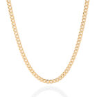 Sterling Silver Cuban Chain Gold Plated