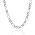 Sterling Silver Figaro 7mm Chain